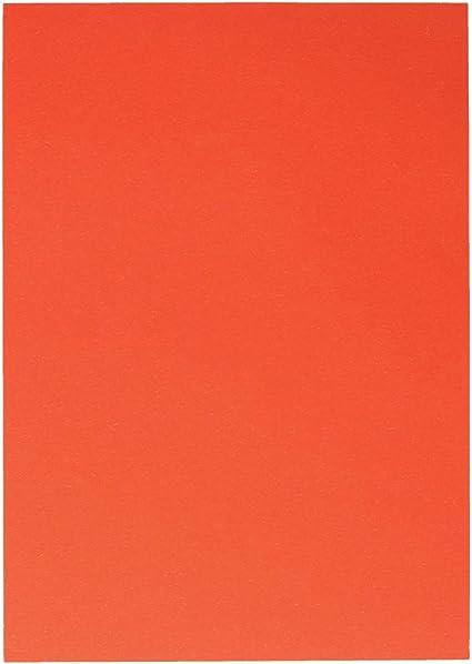 TTS - Caja de cartón para fotos, A4 1/1, color naranja: Amazon.es: Oficina y papelería
