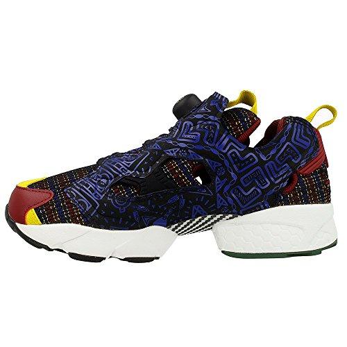 Sneaker Reebok Instapump Fury Africa multicolor Schwarz