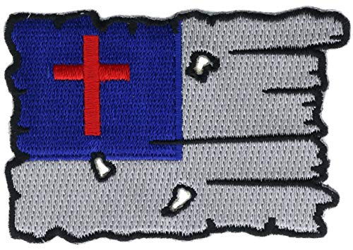 (Tattered Christian Flag 3