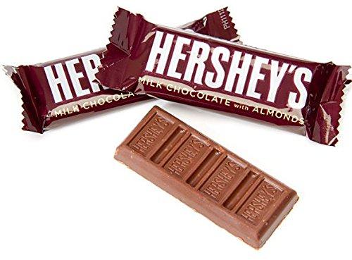 Hersheys Milk Chocolate Almonds Size