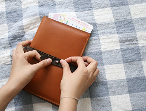 Handmade Curious Family Passport Holder - Leather Travel Multiple Passports Wallet by Handmade Curious (Image #5)