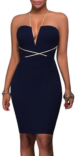 the best attitude 6111c 61c33 Vestito donna aderente party tubino elasticizzato elegante ...