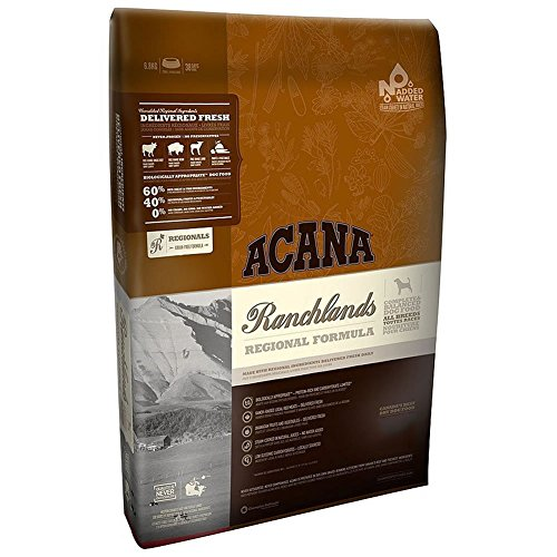 Acana Ranchlands Dry Dog Food (15lb - New Formula)
