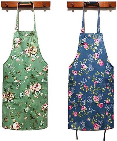 cook craft apron baking flower makeup artist apron esthetician kitchen cooking apron Floral Apron gardening apron polyester apron
