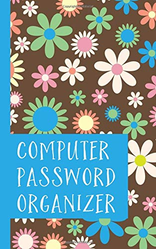 Computer Password Organizer (Volume 1) [Organized, Highly] (Tapa Blanda)