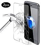 iPhone 7 Schutzfolie, Mture Displayschutz für iPhone 7 Gehärtetem Glas Panzerglas mit Härtegrad 9H Hartglas Schutzglas folie für iPhone 7 4.7 Zoll (Transparente) - 2-pack