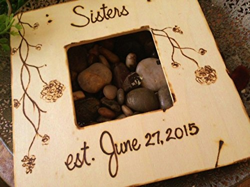 New Sister Wedding Frame for Sister in - Personalized Enclosure Gift