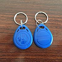 YARONGTECH-125khz rewritable T5577 rfid keyfobs tag for hotel key-50pcs