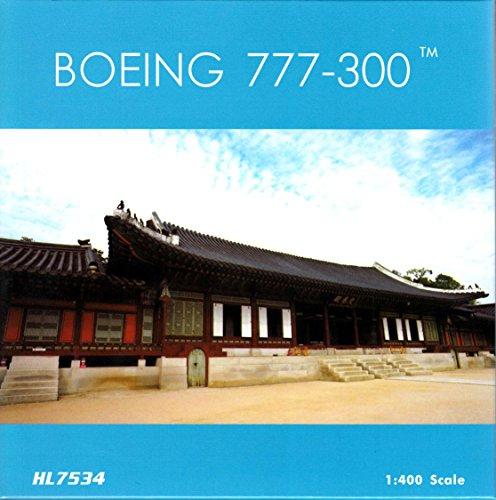 Phoenix Air 400 (PHX1667 1:400 Phoenix Model Korean Air Boeing 777-300 Reg #HL7534 (pre-painted/pre-built))