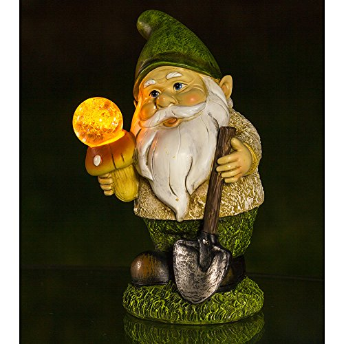 Review Gnome Solar Garden Light