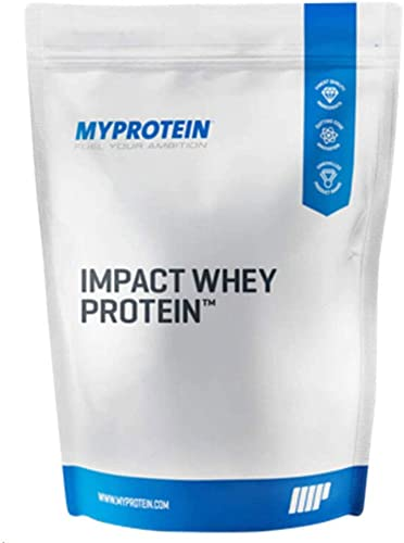 Myprotein Impact Whey Isolate Protein Powder, Gluten Free Protein Powder, Muscle Mass Protein Powder, Dietary Supplement for Weight Loss, GMO Soy Free, Whey Protein Powder, Vanilla, 5.5 Lbs