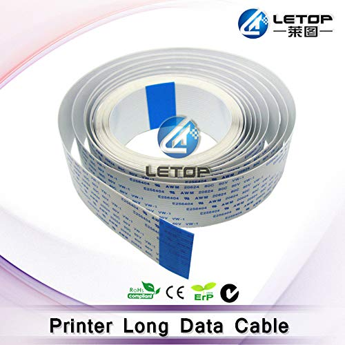Printer Parts 40P Long Date Cable 3600mm Cable for Yoton Inkjet eco Solvent Printer ()
