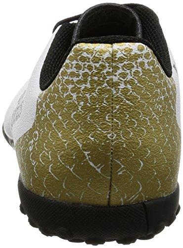 adidas X 16.4 TF J, Botas de Fútbol para Niños Blanco (Ftwr White/Core Black/Gold Metallic)