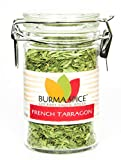 French Tarragon : Dried Herb, No additives, French Cuisine : Kosher Certified (0.3oz.)
