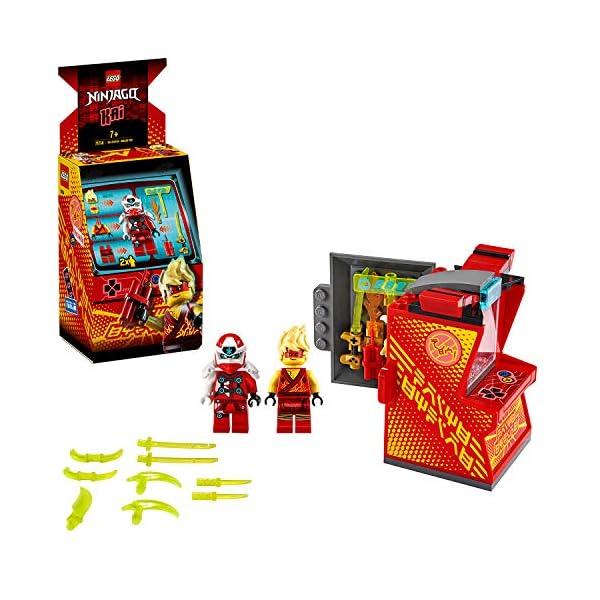LEGO Ninjago Avatar di Kai Pod Sala Giochi, Set di Costruzioni con 2 Personaggi Digi Kai e la Minifigure di Avatar Kai… 1 spesavip