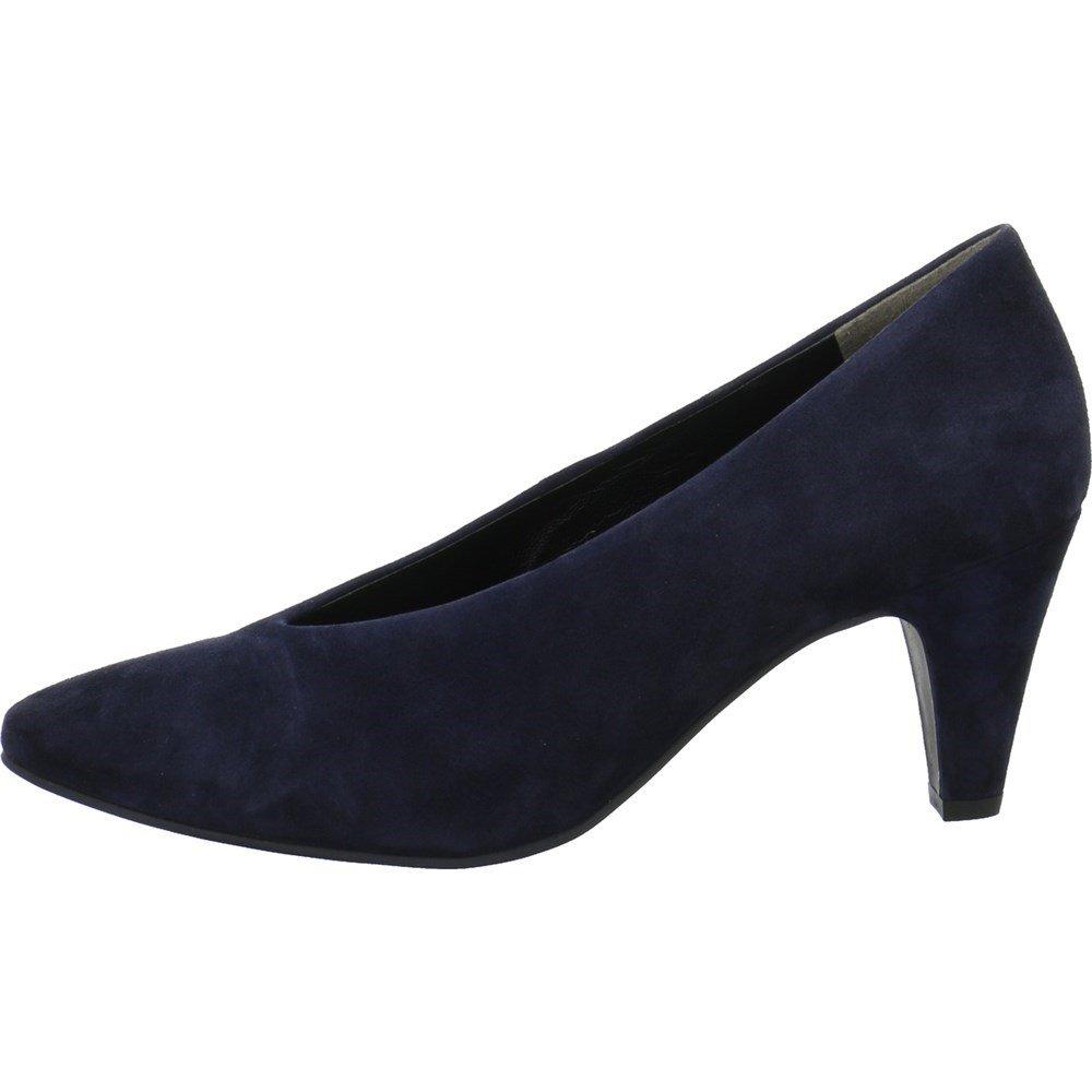 Paul Green - Zapatos de Vestir de Ante para Mujer 36 EU|Azul