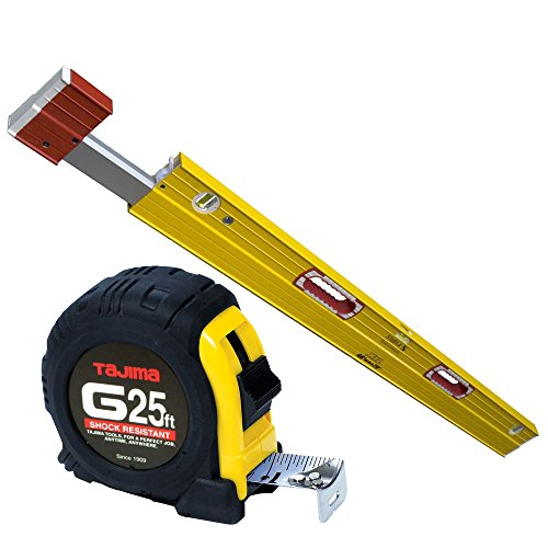 Stabila 35479 XTL Exact Length Level 48'' - 79'' w/ Tajima Tape Measure by Stabila