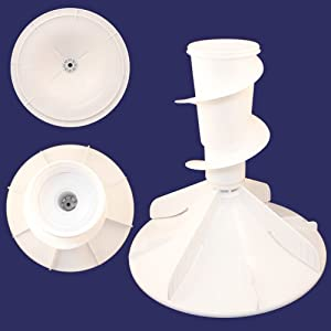 Whirlpool W22004042 Washer Agitator Genuine Original Equipment Manufacturer (OEM) Part