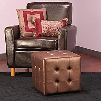 Christopher Knight Home 299391 Living Santa Rosa Light Grey Fabric Storage Ottoman,