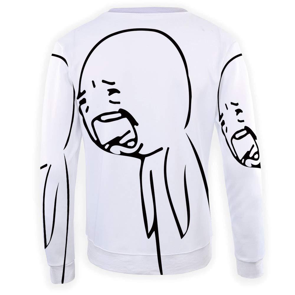 MOOCOM Mens Humor Decor Crewneck Sweatshirt-Unisex