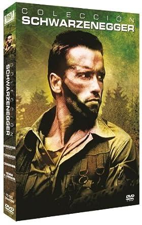 Pack Arnold Schwarzenegger Depredador / Terminator / Commando ...