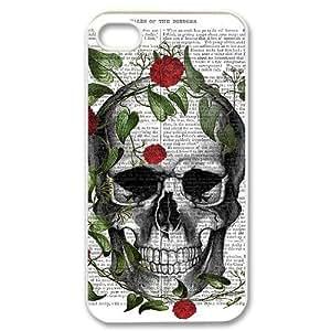Winfors Artistic Skull Phone Case For Iphone 4/4s [Pattern-6]