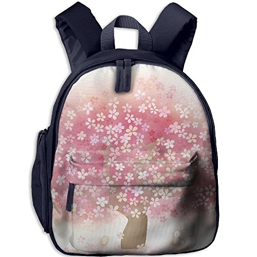 Spring Cherry Blossoms Kids Lightweight Backpack For - Casuarina Shops