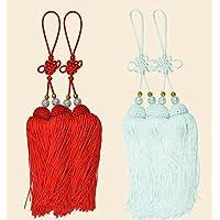 Rojo, Blanco cifrado Hielo Seda Tai Chi Artes Marciales competiciones jiansui Juego cifrado de Professional jiansui específico jiansui borlas Dos conjuntos