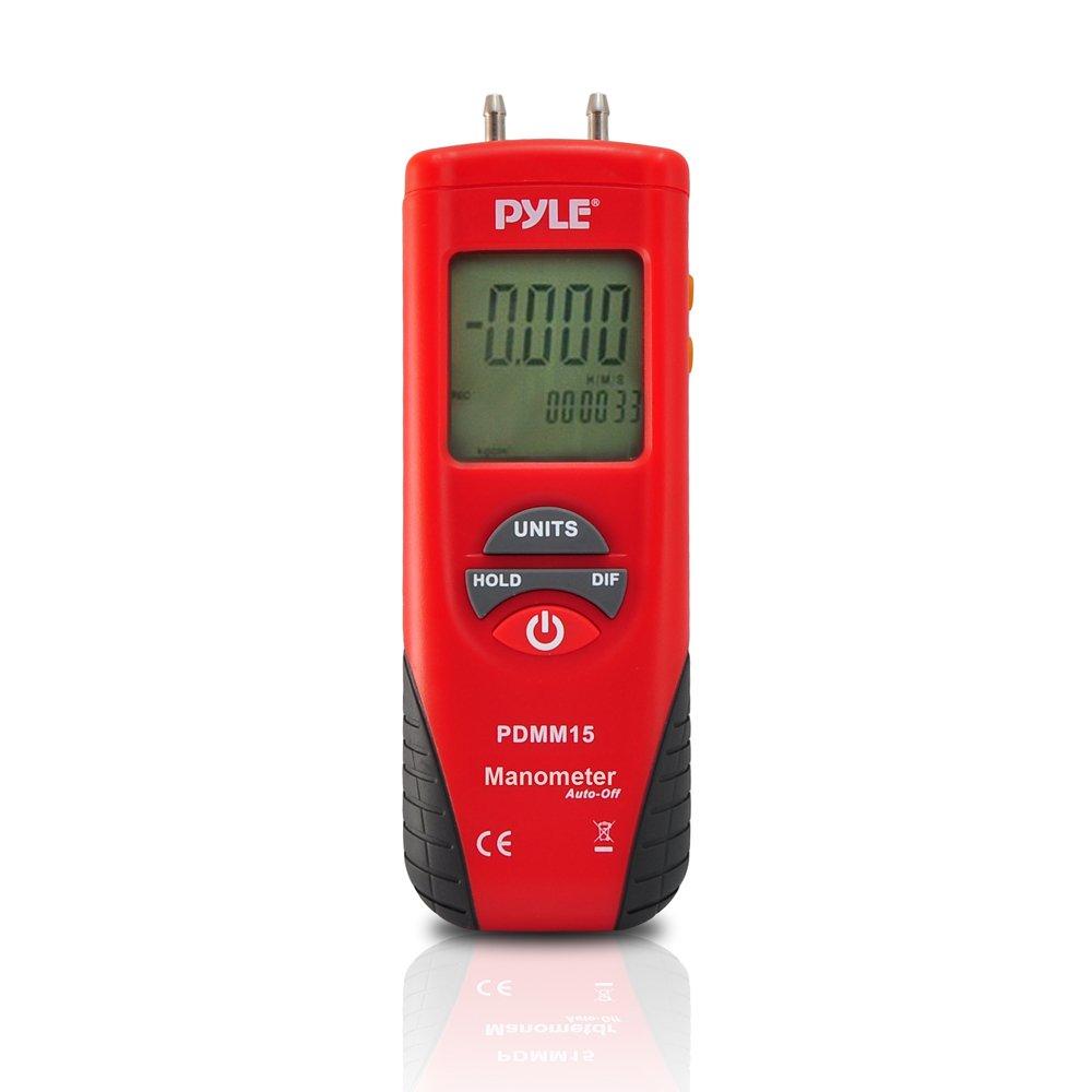 digital manometer. amazon.com: pyle pdmm15 digital manometer for measuring pressure: home improvement l