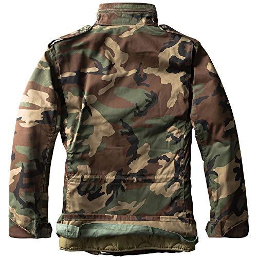 Combat Parka Woodland Army D'hiver Camouflage Urbandreamz De M65 shdCrBQxt