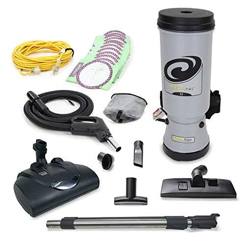 (Proteam MEGAVAC 10 Qt Commercial Backpack Vacuum w/Wessel Werk Head)