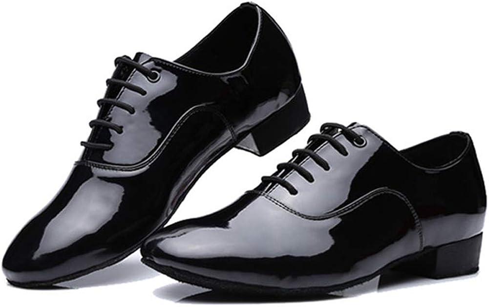 SWDZM Boy//Men Standard Latin Dance Shoes Leater Ballroom Model-UK-704