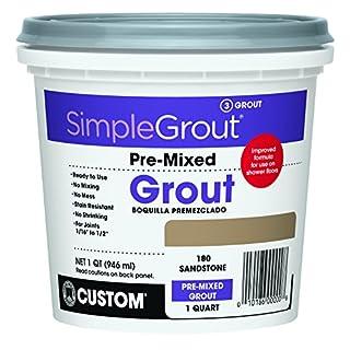 Custom, Sandstone PMG180QT 1-Quart Simple Premium Grout