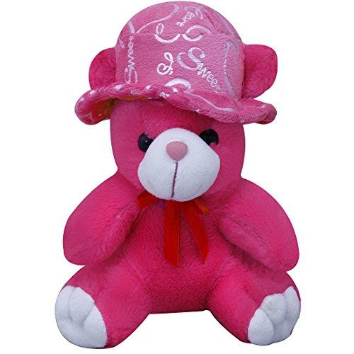 Casotec Cute Teddy Bear with Cap Stuffed Soft Plush Soft Toy  22 cm