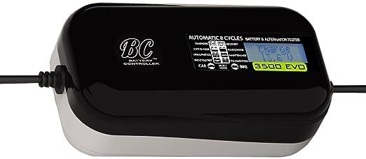 79 opinioni per BC 3500 EVO MULTILINGUA- Caricabatteria/Mantenitore Auto/Moto + Tester batteria