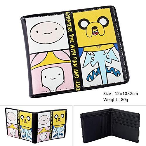 SWVV Paquete de Tarjeta Monedero Unisex Anime Hombre y Mujer Aventura Juego en Vivo Short Fold Wallet A: Amazon.es: Equipaje