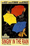 American Gift Services - Singin' in The Rain Vintage Gene Kelly Movie Poster - 11x17