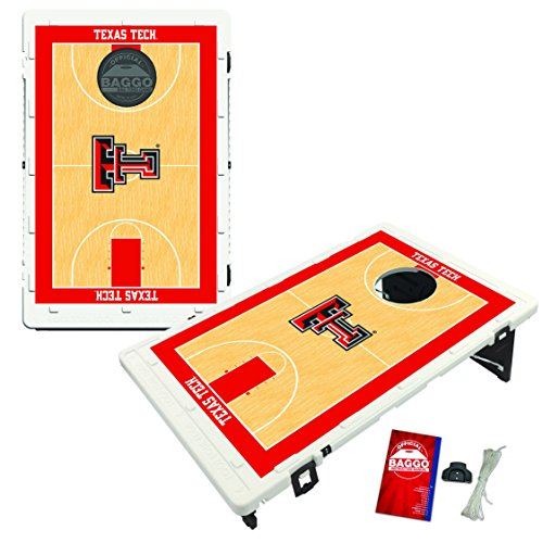 Victory Tailgate Texas Tech Red Raiders Baggo Bean Bag Toss Cornhole Game Homecourt Design