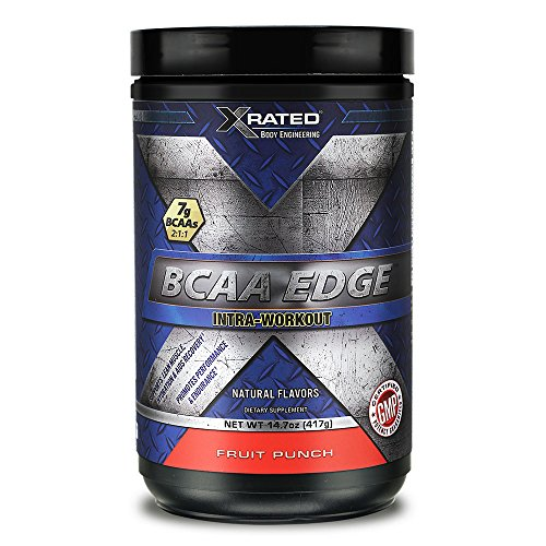 Xrated Body Engineering BCAA Edge Intra-Workout - Fruit Punch (14.7 oz)