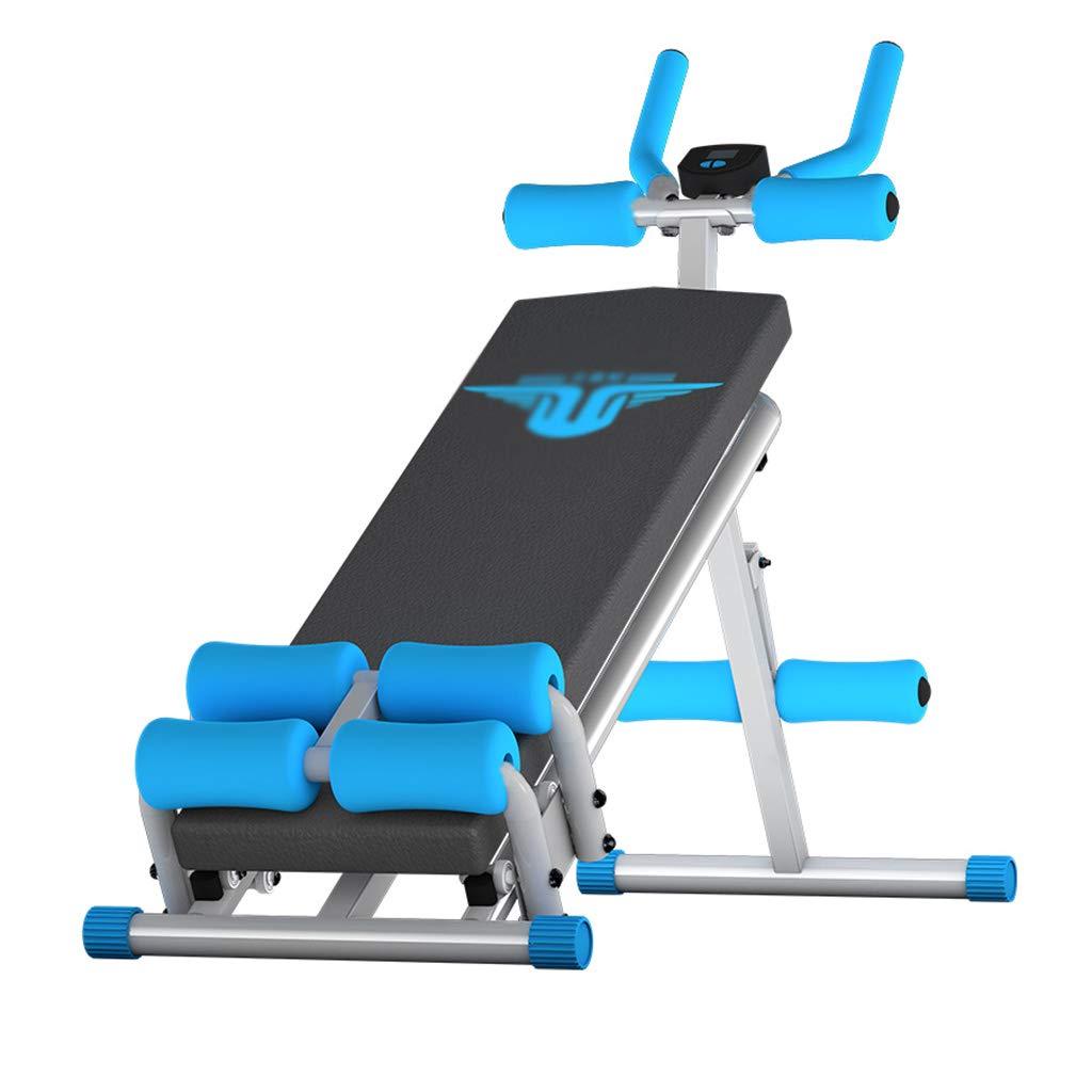腹筋器具 シットアップ腹部ローイングマシン腹部機器多機能家庭用フィットネス機器ウエストフィットネスボード (Color : (Color Blue, Size : : 40*75 Blue,*145cm) 40*75*145cm Blue B07KDC8ZH4, スイタシ:6b01afda --- sharoshka.org