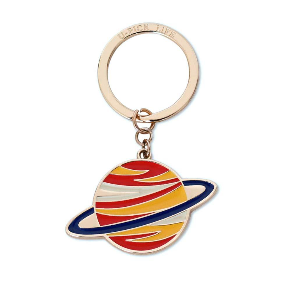 Amazon.com: WCJ Exquisite Creative Keychain Small Planet ...
