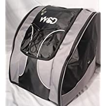 Ski Boot Bag- Ski Gear Backpack For Boots Of All Sizes Water-Resistant Backpack With Room For Boots, Helmet & More New