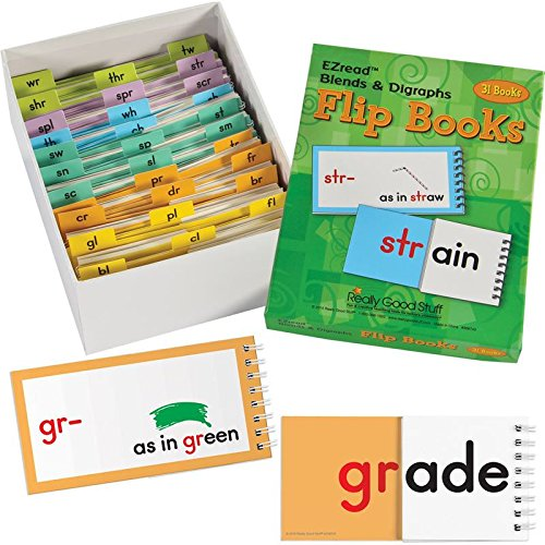 And Digraphs Blends (Really Good Stuff EZread Blends and Digraphs Flip Books)