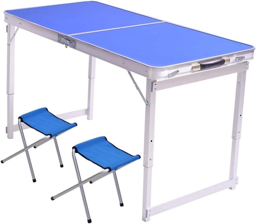 Bijzondere Korting Tafel Klaptafel Met 2 Stoelen Aluminium Snacktafel, Bank Eenvoudige Eettafel, Drie Niveaus Van Vrij Verstelbare Hoogte Picknicktafels (Color : Style3) Style2 N38TxFU