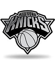 Rico Industries NBA chromowane wykończenie auto emblemat 3D naklejka, New York Knicks