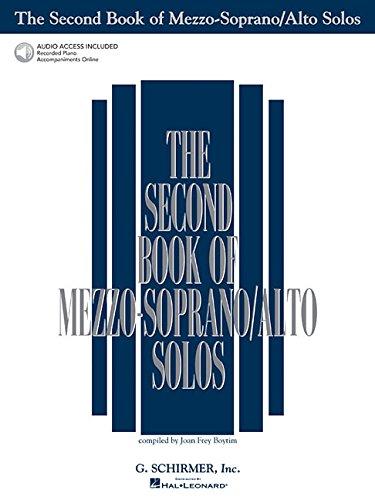 The Second Book of Mezzo-Soprano/Alto Solos (Second Book...