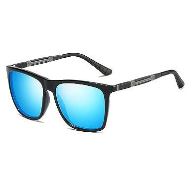 3d55539d7f89c8 VeBrellen Hommes Lunettes de soleil polarisées UV400 style Cadre Al-Mg VS001