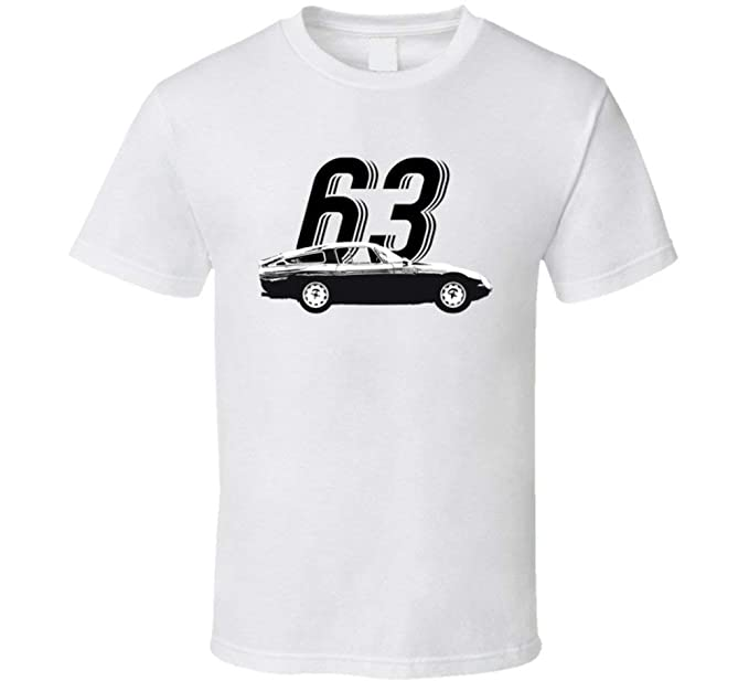 f5ee9f708d6 Image Unavailable. Image not available for. Color  1963 Alfa Romeo Giulia  Tz Vintage Car Year t Shirt ...