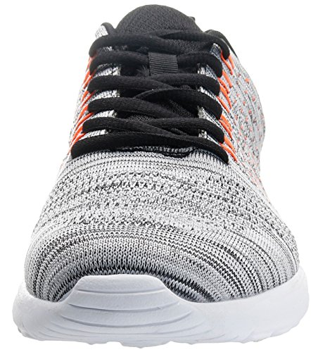 Joomra [klaring] Heren Ademen Easy Fortune Knit Fashion Sneaker Grijs