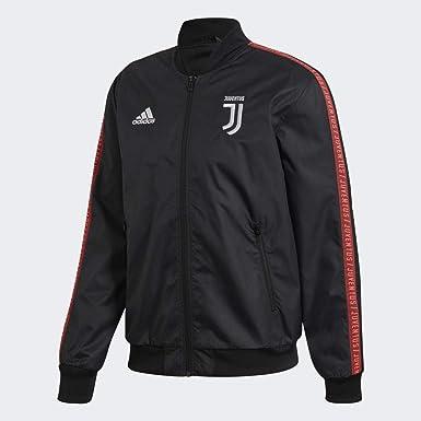 peor Glosario Novedad  Amazon.com : adidas 2019-2020 Juventus Anthem Jacket (Black) : Sports &  Outdoors